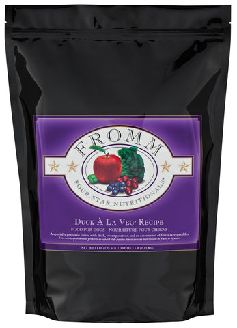 Fromm Four-Star Nutritionals®  Duck  À La Veg® Recipe Food for Dogs