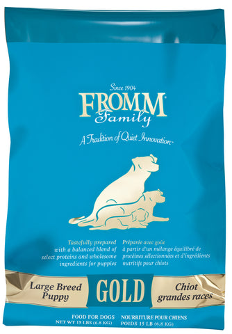 Fromm Family Large Breed Puppy Gold Food for Dogs