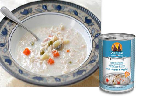Weruva Grandma's Chicken Soup With Chicken & Veggies Dog Food
