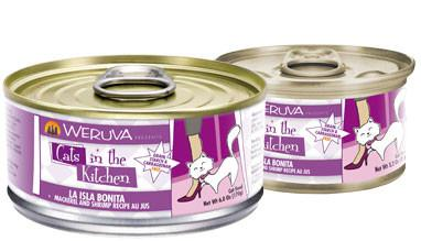 Weruva La Isla Bonita Mackerel and Shrimp Recipe Au Jus Cat Food