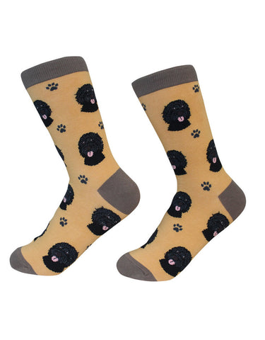Sock Daddy Breed Socks, Labradoodle Black