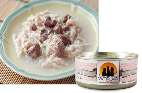 Weruva Nine Liver With Chicken and Chicken Liver in Gravy Cat Food