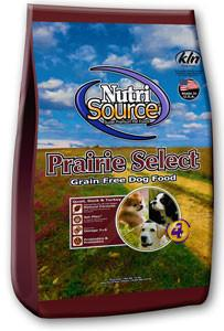 NutriSource Prairie Select Grain Free Dog Food