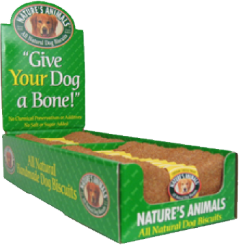 Nature's Animals - Bakery Biscuit - Single Bone for Dogs