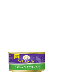 Wellness Sliced Turkey Entrée For Cats