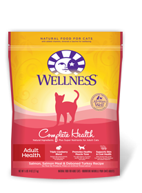 Wellness Complete Health Salmon, Salmon Meal & Deboned Turkey Cat Food