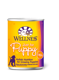 Wellness Just for Puppy Canned Recipe