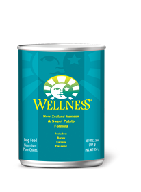 Wellness Complete Health Venison & Sweet Potato Dog Food