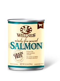 Wellness Mixers & Toppers 95% Salmon Dog Food