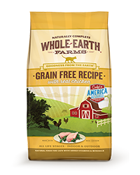 Whole Earth Farms Grain Free Recipe with Real Chicken