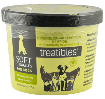 Treatibles® Soft Chews for Dogs 60ct