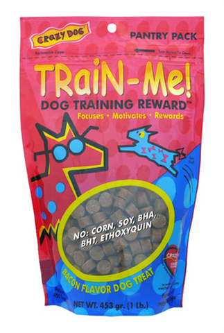 Train-Me Reward Treats—Bacon for Dogs