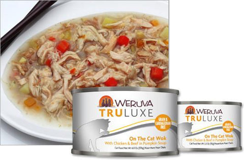 Weruva On The Cat Wok With Chicken & Beef in Pumpkin Soup Cat Food