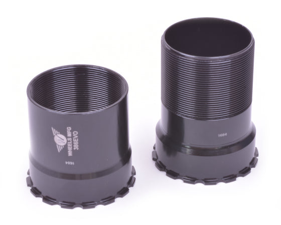 386EVO - Threaded Bottom Bracket - Black