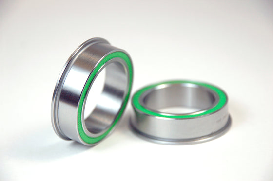 BB86 to 30MM Replacement Bearing  30mm ID X 41mm ODFlanged, Dual Row Stainless Steel Sealed Bearing