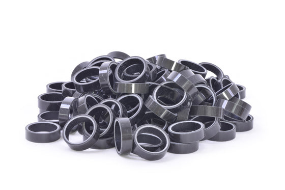 "BULK Carbon Fiber Headset spacer - 1-1/8"" x 10 mm"