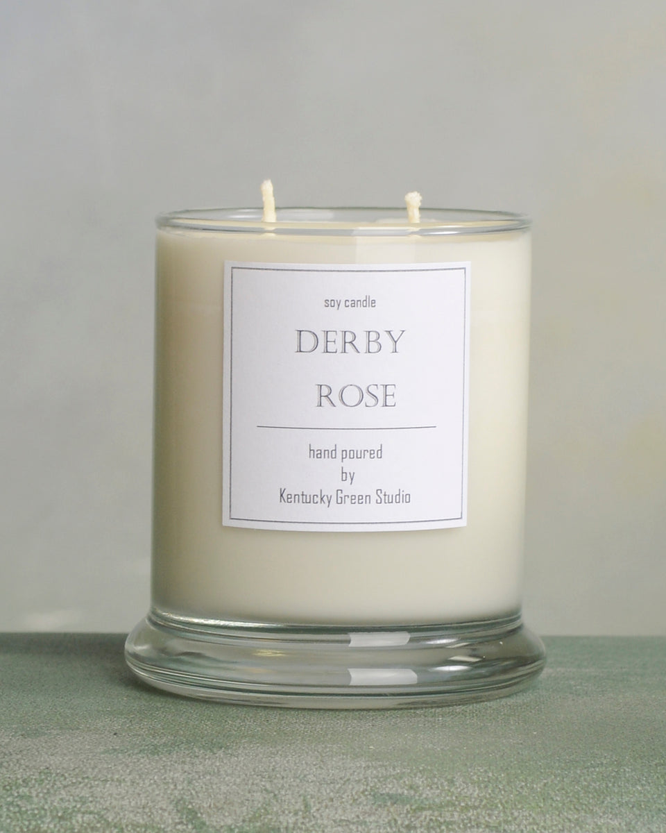 Derby Rose Scented Soy Candle in Lexington, Kentucky (KY) & Tennessee (TN)