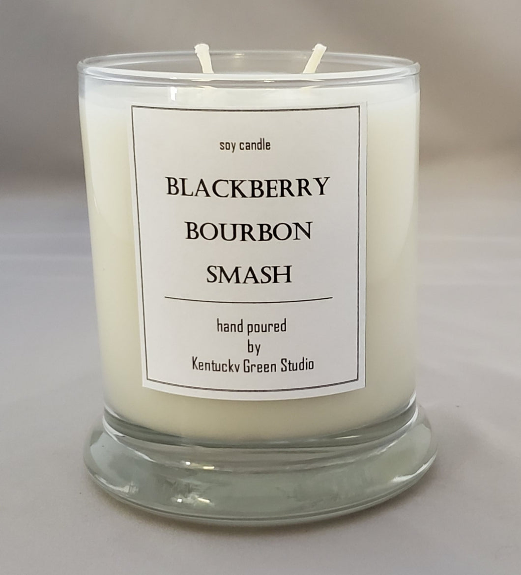 Blackberry Bourbon Smash Soy Candle