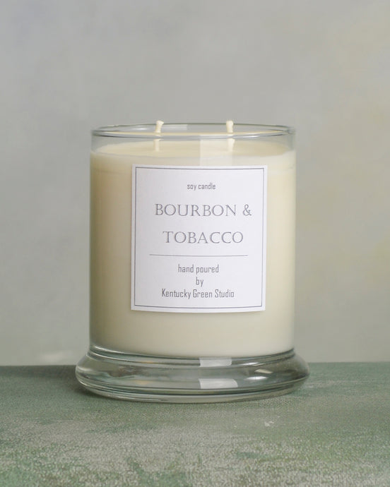 Bourbon & Tobacco Soy Candles in Lexington, Kentucky (KY) & Tennessee (TN)