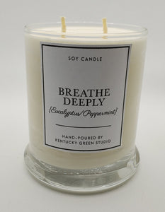 Breathe Deeply Soy Candle