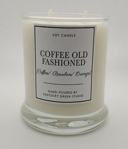 Coffee Old Fashioned Soy Candle