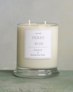Derby Rose Soy Candles made in Lexington, Kentucky (KY)