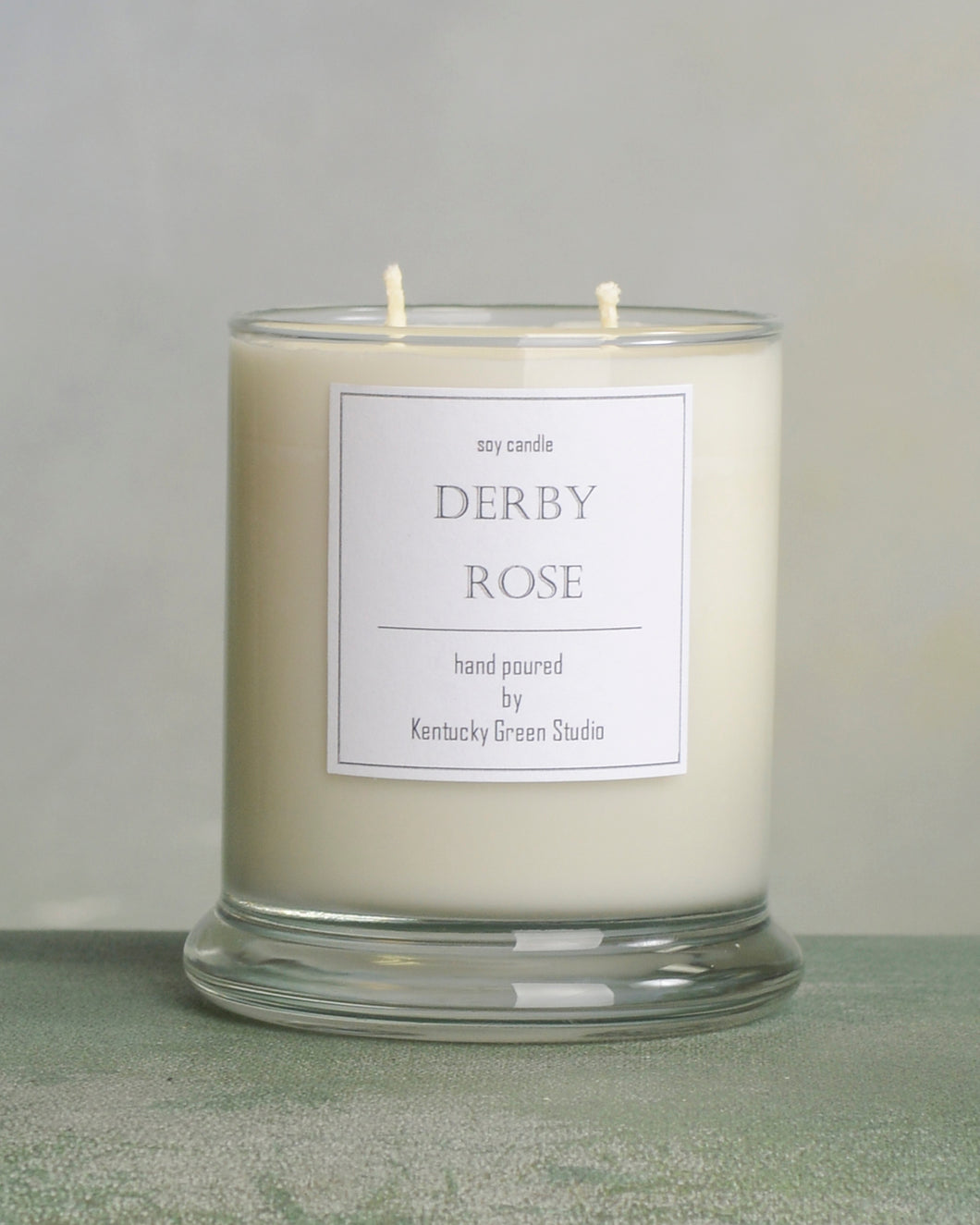 Derby Rose Soy Candle