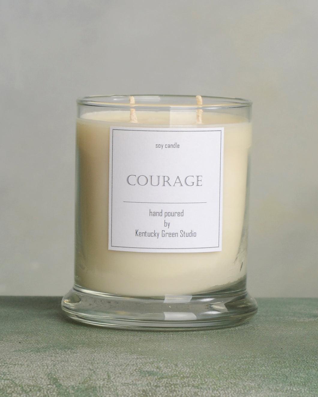 Courage Soy Candles made in Lexington, Kentucky (KY)