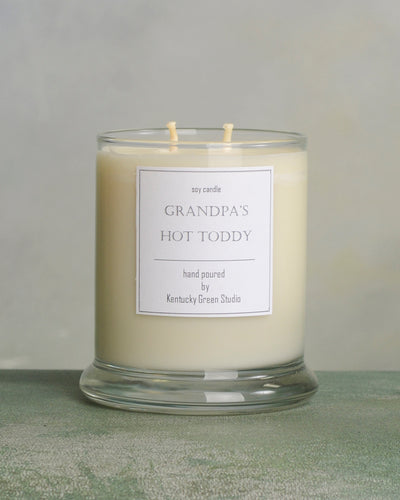 Grandpa's Hot Toddy Soy Candles made in Lexington, Kentucky (KY)