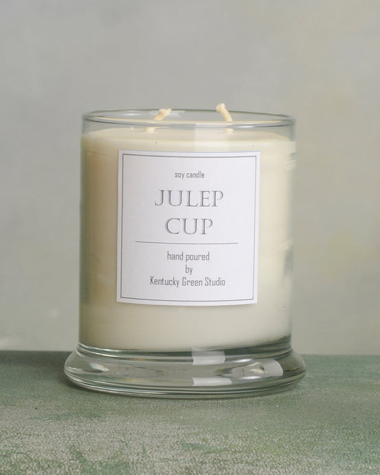 Julep Cup Soy Candles made in Lexington, Kentucky (KY)
