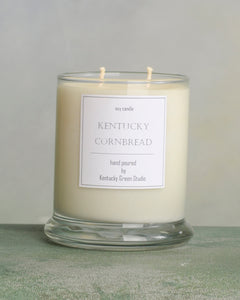 Kentucky Cornbread Soy Candles made in Lexington, Kentucky (KY)
