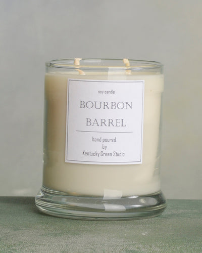 Bourbon Barrel Soy Candles made in Lexington, Kentucky (KY)