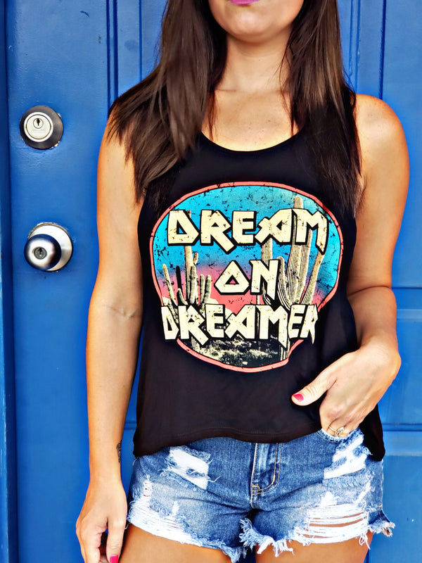 Dream On Dreamer Tank