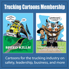 Trucking Cartoon Membership