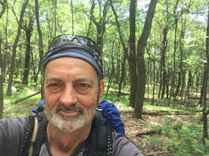Lil' Cub a thru-hiker of the Appalachian Trail in 2017.