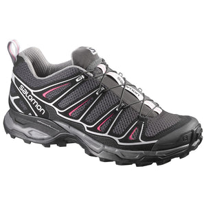 Salomon Women's X Ultra 2 Asphalt/Black/Hot Pink