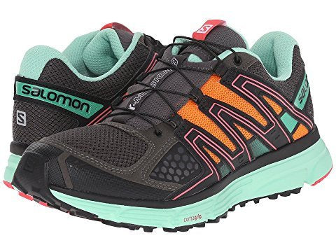 Salomon Women's X-Mission 3 Autobahn/Lucite Green/Orange Feeling