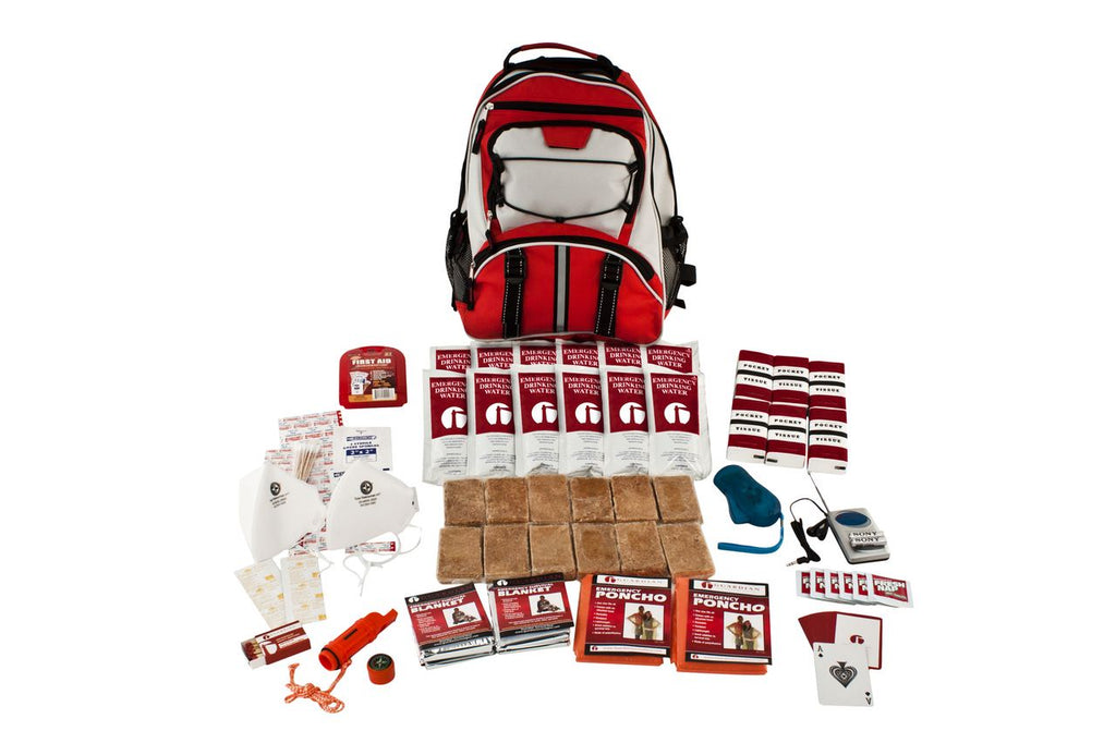 2 Person Survival Kit (72+ Hours) Hiker's Backpack