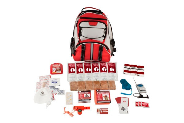 1 Person Survival Kit (72+ Hours) Hiker's Backpack