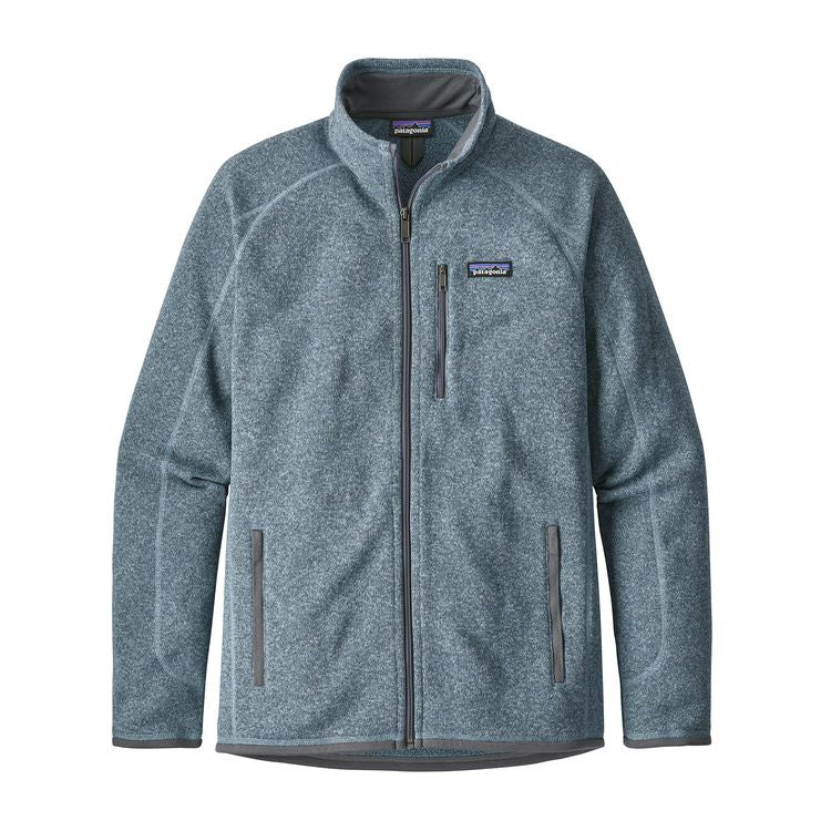 Patagonia Men's Better Sweater Full Zip Jacket - Shadow Blue