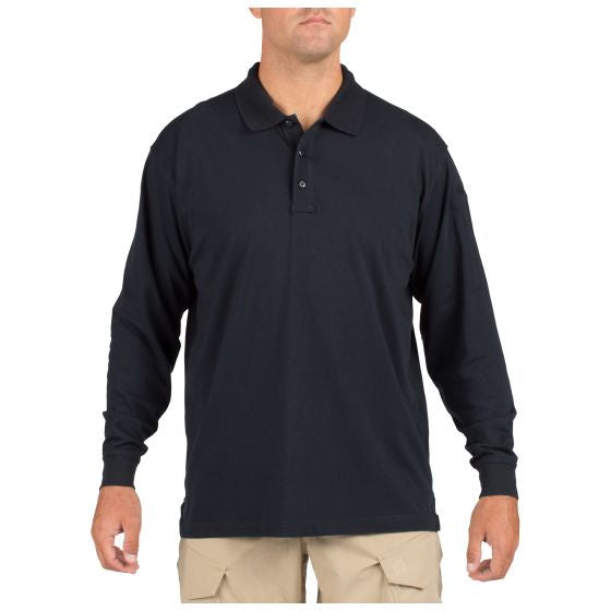5.11 Tactical Men's Jersey Long Sleeve Polo