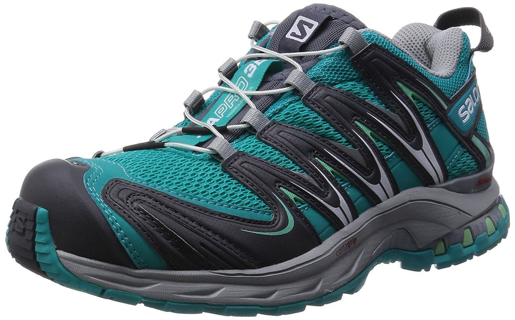 Salomon Women's XA Pro 3D Teal Blue F/Dark Cloud/Lucite Green