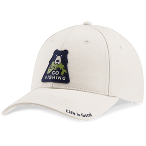 Life is Good A High Rise Chill/Go Fish Bear Hat
