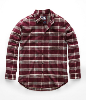 The North Face Women's Long-Sleeve Boyfriend Shirt