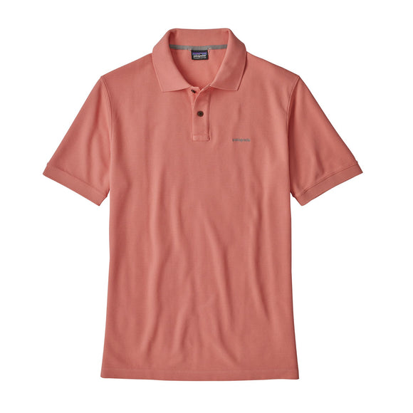 Patagonia Men's Belwe Pique Polo - Peak Pink