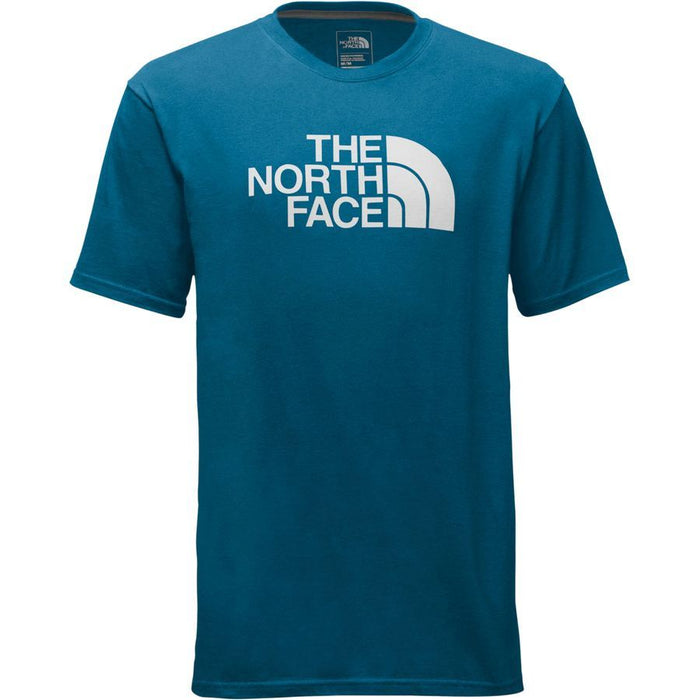 The North Face Men's Half Dome Short Sleeve Blue/White