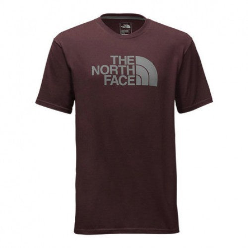 The North Face Men's Half Dome Short Sleeve Root Brown/Grey