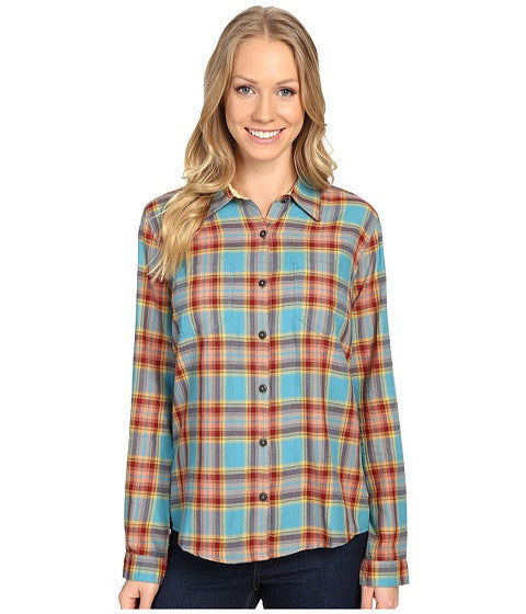 Royal Robbins Women's Cottonwood Plaid L/S Cove