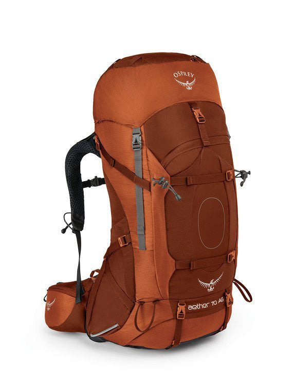 Osprey Men's Aether AG 70L With Daypack Outback