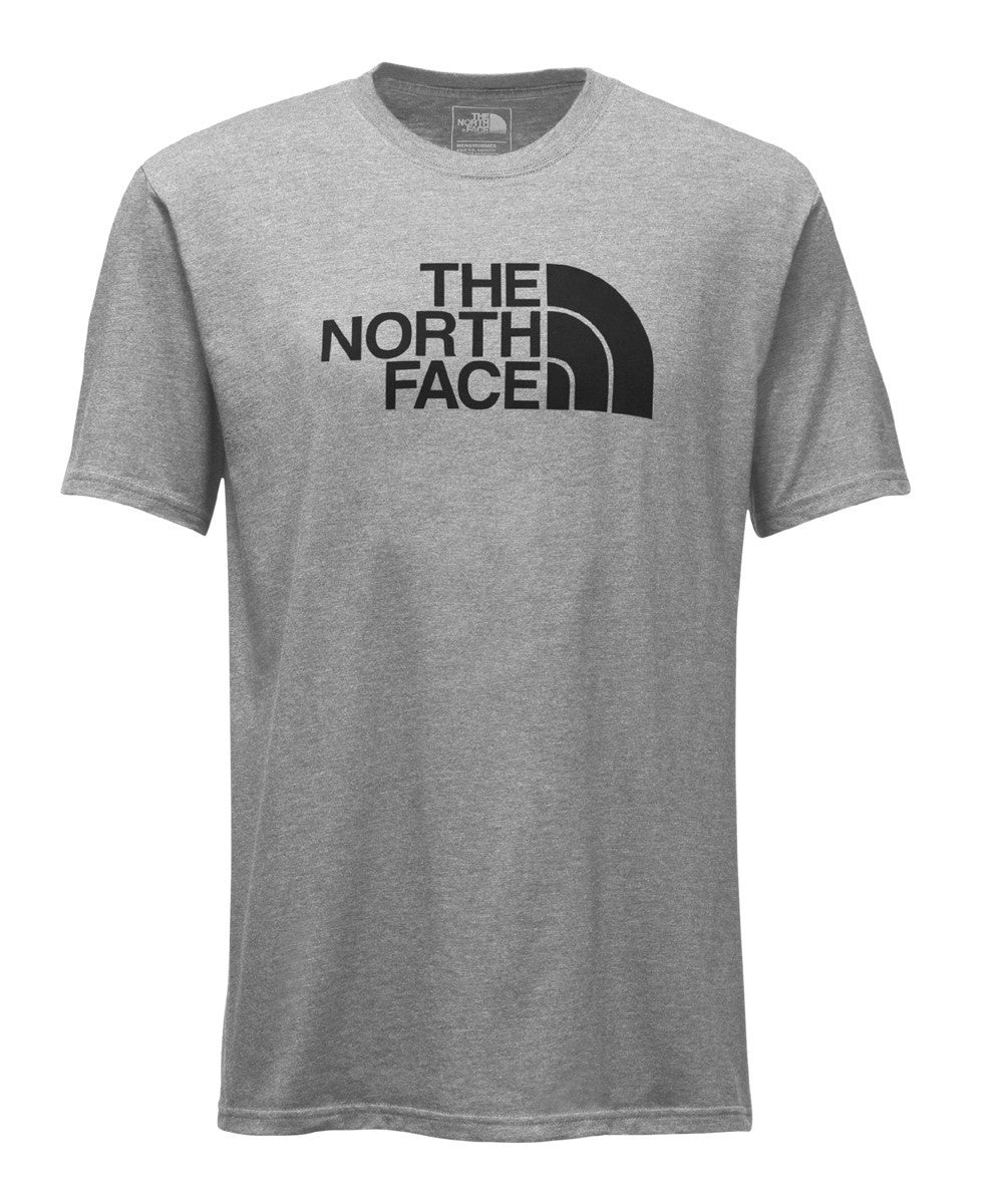 The North Face Men's Half Dome Short Sleeve Grey/Black